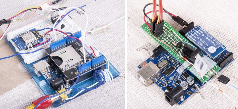 Microcontrollers with supporting modules